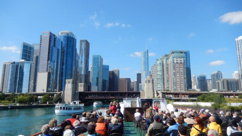 Chicago river cruise- USE